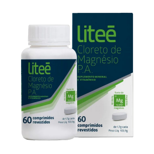 CLORETO DE MAGNESIO P.A LITEE - 60 COMPRIMIDOS
