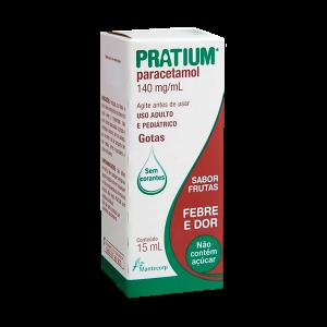 FRASCO PRATIUM GOTAS 140MG/ML - 15ML