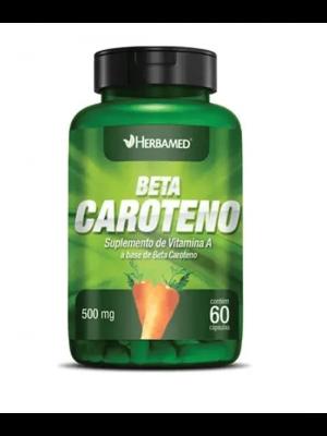BETA CAROTENO 500MG 60 CAPSULAS HERBAMED