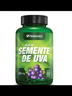 OLEO DE SEMENTE DE UVA 1000MG 60 CAPS HERBAMED