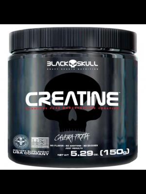 CREATINE BLACK SKULL CAVEIRA PRETA 150G