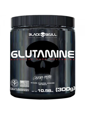 GLUTAMINE BLACK SKULL CAVEIRA PRETA 300G