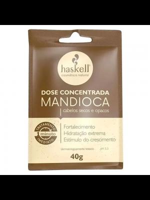 DOSE CONCENTRADA HASKELL 1 MINUTO MANDIOCA 40G