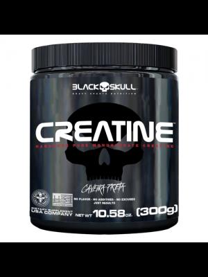 CREATINE BLACK SKULL CAVEIRA PRETA 300G