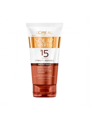 PROTETOR SOLAR LOREAL EXPERTISE PROTECT GOLD FPS 15 120ML