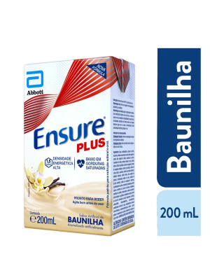 ENSURE PLUS BAUNILHA 200ML