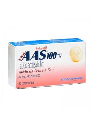 AAS 100MG 30 COMP