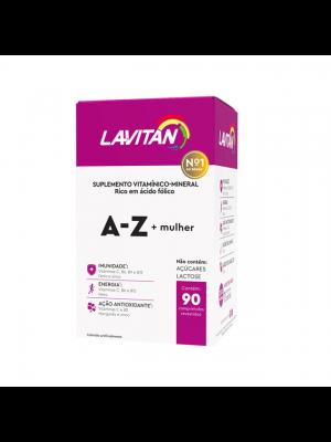 LAVITAN A-Z MULHER 60 COMPRIMIDOS