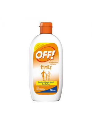 REPELENTE OFF FAMILY LOÇÃO HIDRATANTE 60ML
