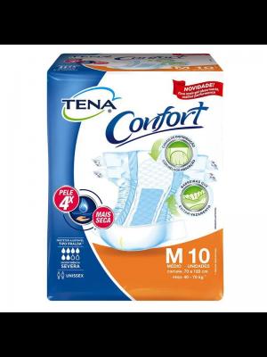 FRALDA GERIATRICA TENA CONFORT M 10 UNIDADES