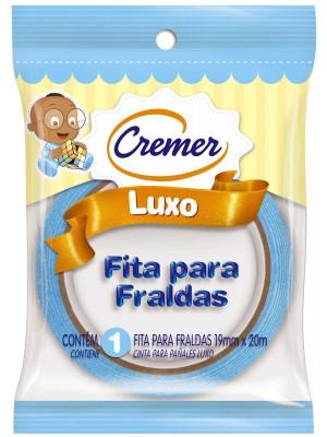 FITA CREPE P/FRALDA CREMER AZUL