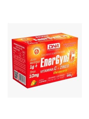 ENERGYM C VIT C + ZINCO LARANJA 30 SACHES EFERVESCENTES