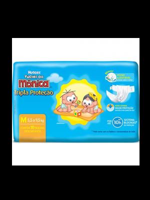 FR TURMA DA MONICA TRIPLA PROTEÇÃO M 10 UNID