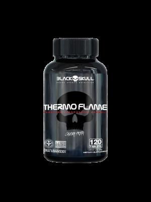 THERMO FLAME BLACK SKULL CAVEIRA PRETA - 60 TABLETES