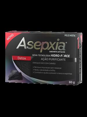 ASEPXIA SABONETE: DETOX - 80 GRAMAS