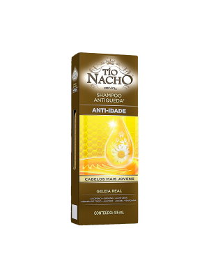 SHAMPOO TIO NACHO ANTIQUEDA ANTI IDADE - 415ML