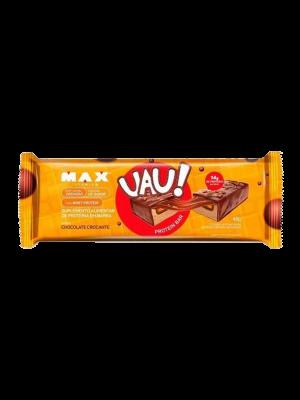 PROTEIN BAR UAU MAX TITANIUM: CHOCOLATE CROCANTE - 45 GRAMAS