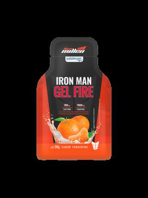 IRON MAN GEL FIRE NEW MILLEN: TANGERINA - 30 GRAMAS