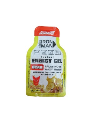IRON MAN ENERGY GEL 30G BANANA NEW MILLEN