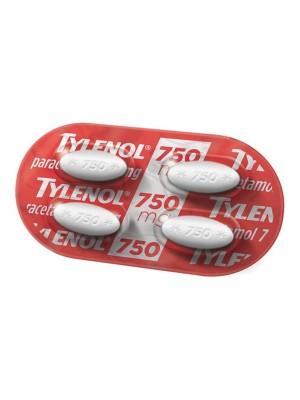 TYLENOL 750MG- 4 CAP REV